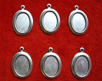 Silver Plated Frame Drop (6)