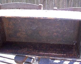 Vintage Farmhouse Wooden Box