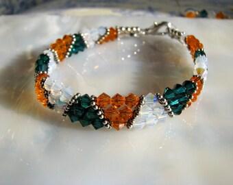 Irish Heritage Flag Bracelet