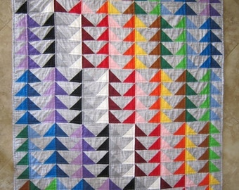 PDF Pattern I'M FLYING Modern Quilt Pattern from Quilts by Elena