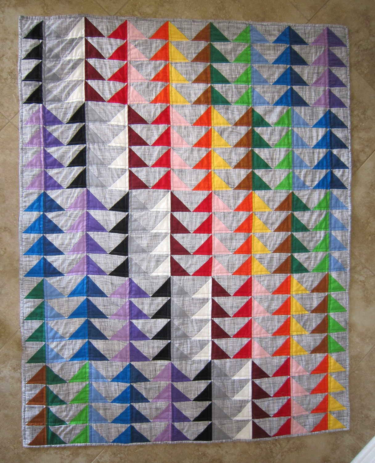 I M Flying Modern Quilt Pattern From Quilts By Elena