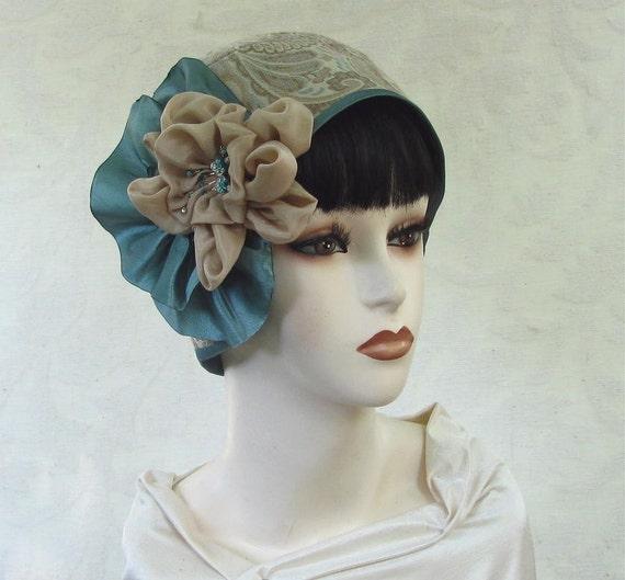 Flapper 1920s Helmet Cloche Vintage Style Womens Hat
