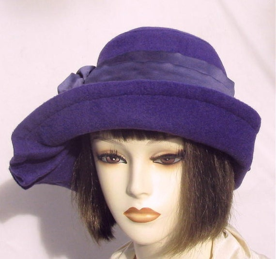 1940s wwii wool vintage inspired womens hat