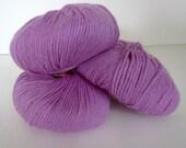 Pink Knitting Yarn 3 Balls Plymouth Yarn Baby Alpaca DK Weight Ecofriendly Natural Fiber Color 1830 Pink Magenta Rose