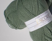Yarn Encore Knitting Worsted Wool Blend SOFT Knitting Worsted Weight Yarn Color 1232 wild sage