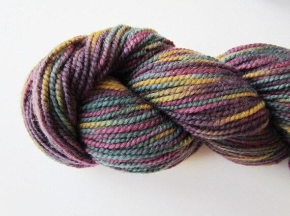Plymouth Knitting Yarn Merlot Gold Forest Green Olive Burgundy Happy Feet Sock Yarn Self Patterning Color 11