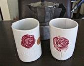 flourish cup pair