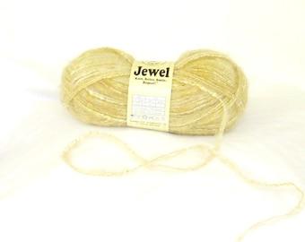 yarns, novelty, jewel 8, universal yarn, golden, C, destash