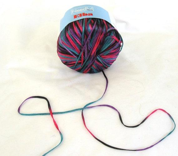 yarn, Elba 2171, Needful yarns, ribbon, C, destash