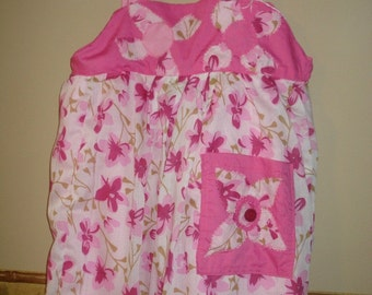 Childs Floral Pink Sundress