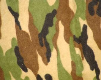 Camo Flannel Blanket