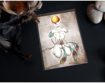 ACEO Limited Edition Archival Print, 'The Golden Egg'