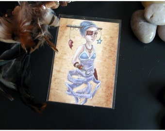 ACEO Limited Edition Archival Print, 'Hochet'