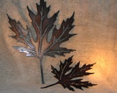 Autumn Leaves-Metal Wall Decor-Suitable for Indoors or outdoors