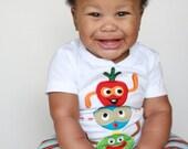 Kids Fashion Baby Toddler Shirt Sam Blip Finn