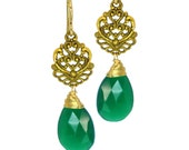Vintage Evergreen Holiday Earring