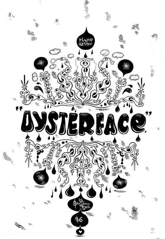 Oysterface handmade comic book zine