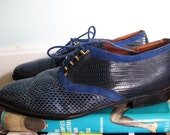 Elvis Oxford Lace-Ups -- Size 9 or 9.5 RESERVED FOR BAILEYHART7