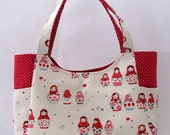 Kawaii Bag - Summer Bag- Japanese Fabric - READY TO SHIP
