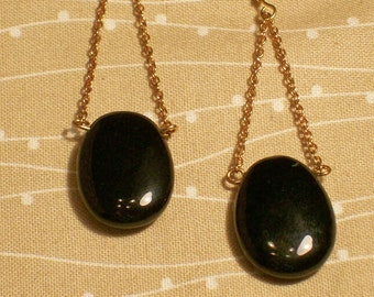 Onyx, Dangle Earrings