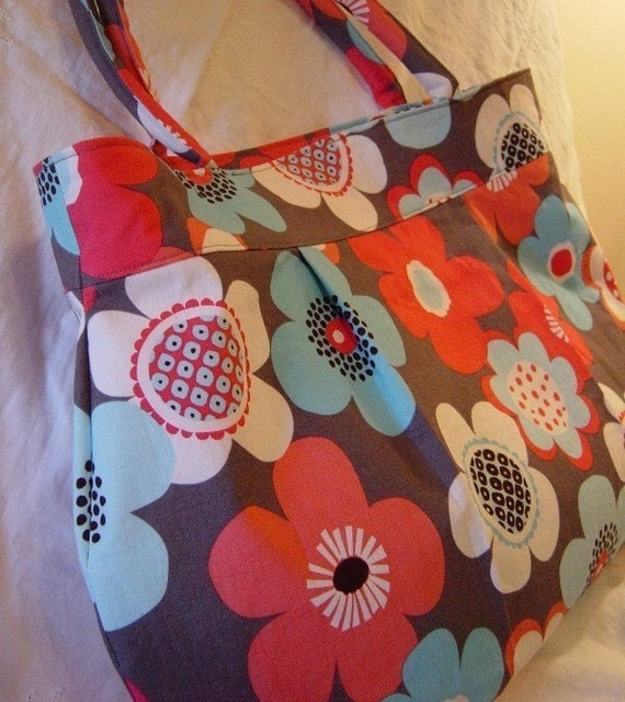 Custom Diaper Bag - You Choose the Fabric for this Design