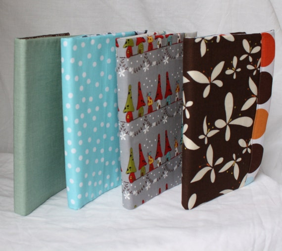 Design your Own Kindle Cover, Nook, IPad, eReader Case - You Choose the Fabric