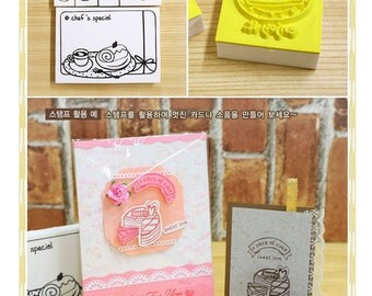 6pcs Rubber Stamps Collection (P134.1 - Chef's Special)