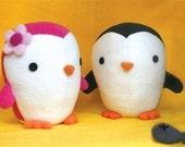 Cute Penguin soft toy Pattern - PDF