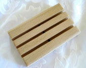 Handcrafted Wooden Bath Soap Dish for the Student Dorm,  B9