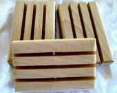 Three Eco Friendly Wooden Soapdishes, H7