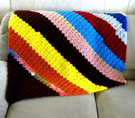 Corner To Corner Shell Afghan Crochet Pattern Pdf By