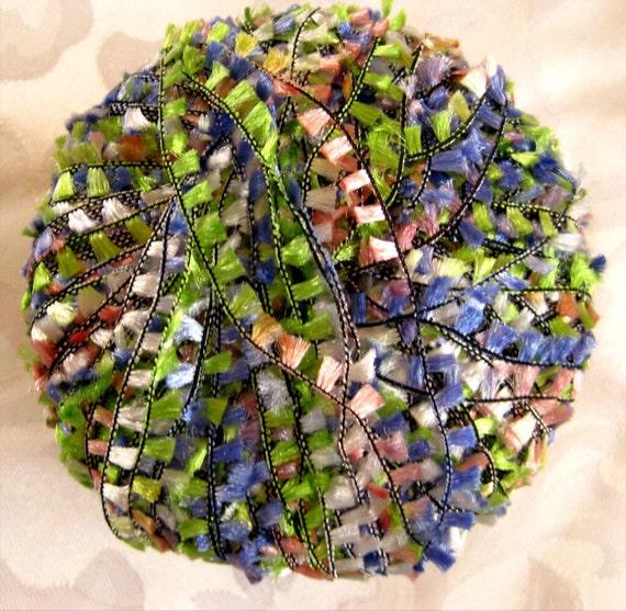Alektra Powerful Yarns, flag yarn, mauve, pink, green pastel colours