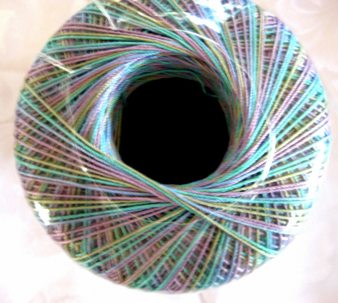 Crochet Thread Size 10 : Aunt Lydias Crochet Thread MONET size 10 by crochetgal on Etsy