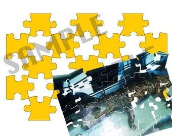 Puzzle Digital SVG File(s) 4x6, 5x7, 8x10