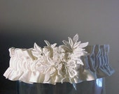 Wedding garter your own  FAMILY HEIRLOOM made from your mothers's wedding gown a Peterene Original