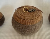 Gourd Art Bowl with Lid