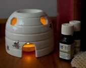 CLEARANCE SALE - Fragrance Oil Burner - Ceramic Beehive - Decorative Ceramic