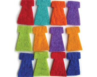 Artgirlz Wool Felt Dress Value Pack