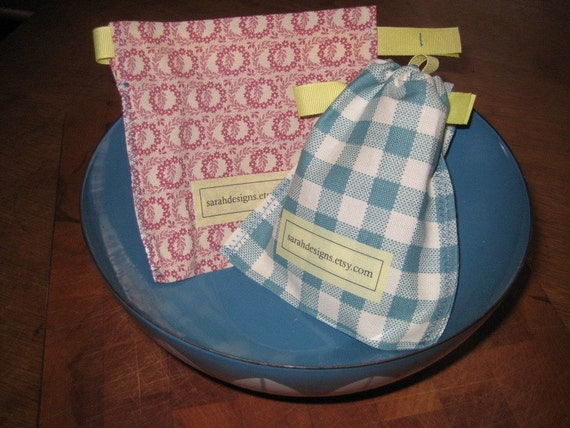 Snack Bags - Reusable Cotton Snack Sacks