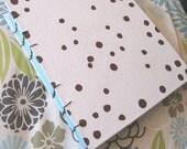 Handbound Mint -Chocolate chip Journal