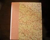 Handbounded photo album\/scrapbook