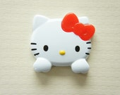 1 pc Large Size Hello Kitty Face with Hands Plastic Motif (46mm48mm)