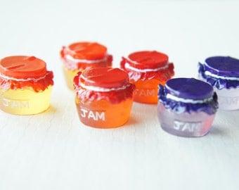 7 pcs Jam Jar Cabochon/Miniature (19mm) CD130 (((LAST)))