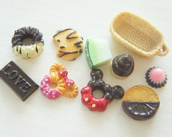 6 pcs Special Sweets Cabochon Set CD332 (((LAST)))
