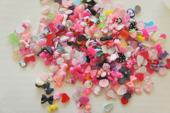 SALE 20 pcs Teeny Nail Size Assorted Cabochon Set Dec.22nd