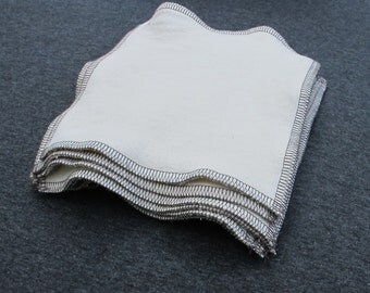 Organic Cotton Fleece Wipes