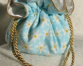 Summer Daisies Jewelry Pouch, Tote