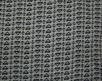 1970s Vintage Sailboat fabric