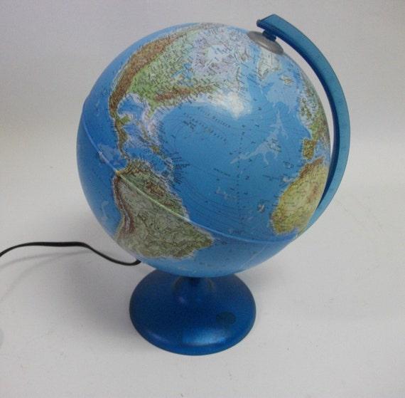 90s Vintage Globe Lamp