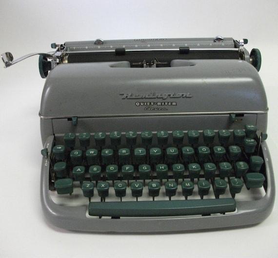 50s Vintage Remington Rand Typewriter